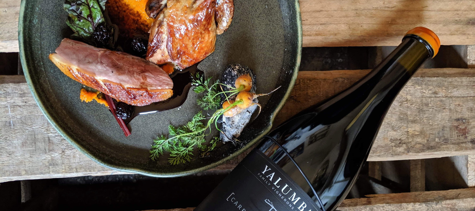 A Grenache Inspired Duo Of Duck Recipe Image