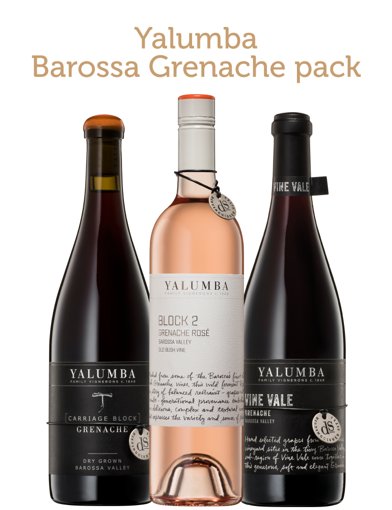 Barossa Yalumba Trio Of Grenache