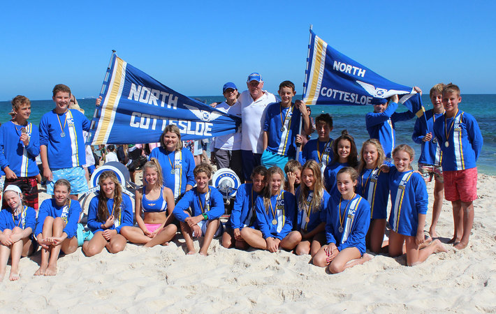 North Cottesloe Slsc Junior March Past Team