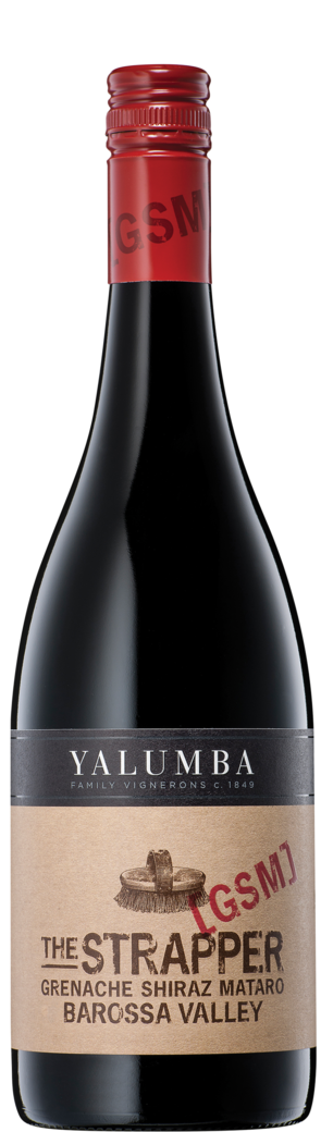 The Strapper Grenache Shiraz Mataro Bottleshot