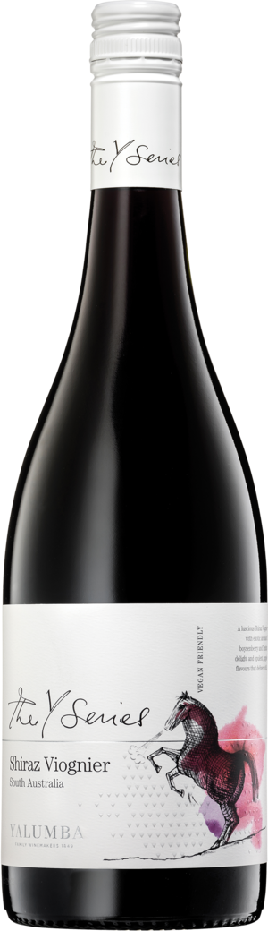 Y Series Shiraz Viognier Bottleshot