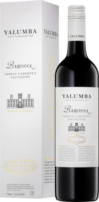 Yalumba Barossa Shiraz Cabernet Sauvignon Box With Bottle