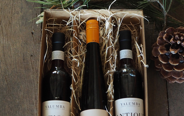 Yalumba Christmas Dessert Pack Portrait Image
