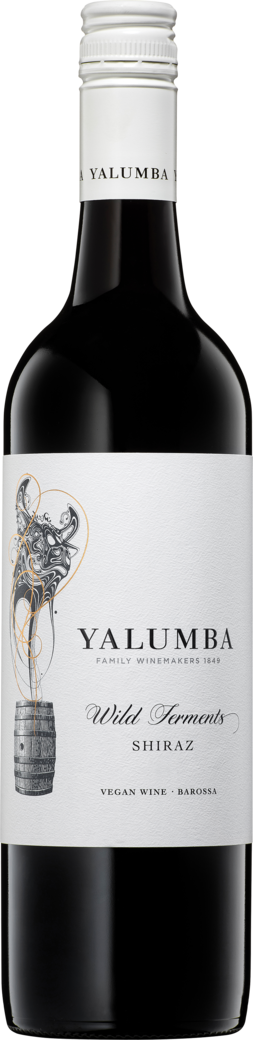 Yalumba Wild Ferments Barossa Shiraz 2018 Bottleshot